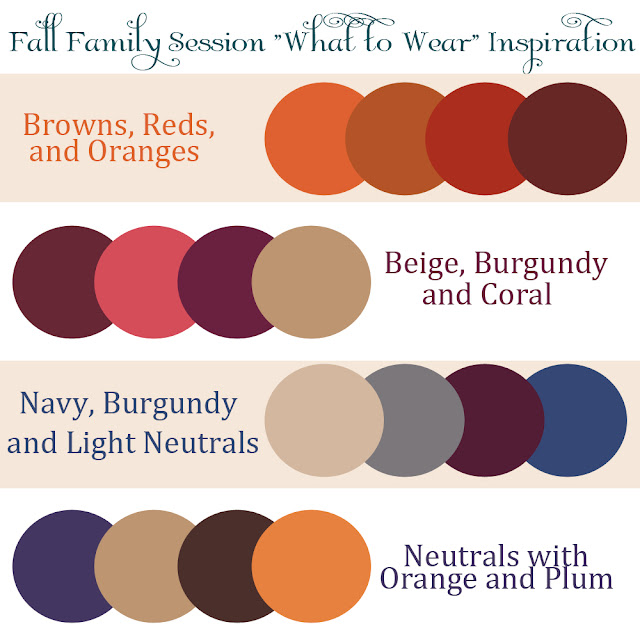 """Candice Smith Photography: Fall Family """"What To Wear"""" Guide"""