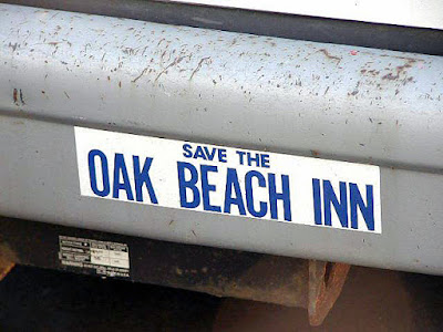 Save the Oak Beach Inn bumpersticker