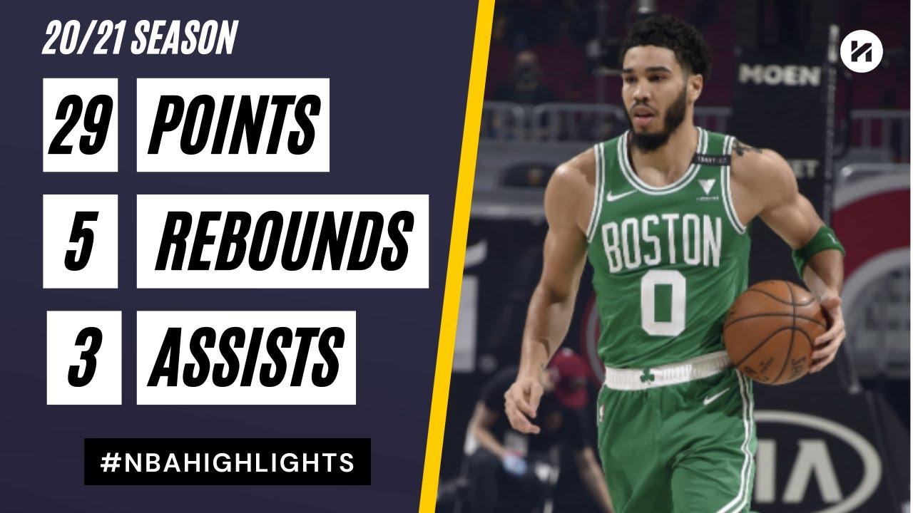 Jayson Tatum 29pts 5reb vs CLE | March 17, 2021 | 2020-21 NBA Season