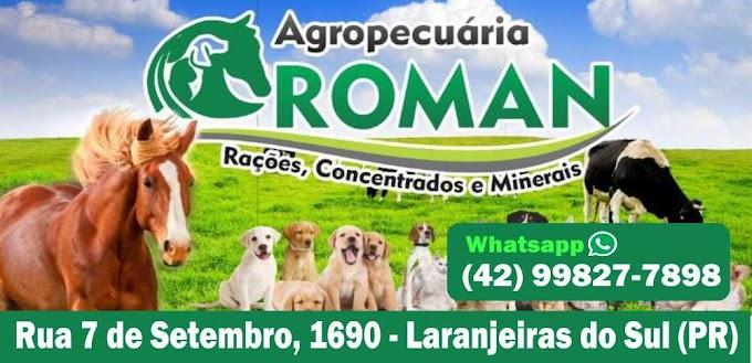 Agropecuária Roman em Laranjeiras do Sul – Venha conhecer!