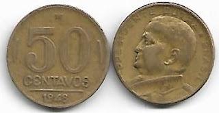 50 centavos, 1948