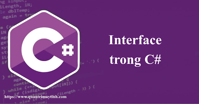 Interface trong C#