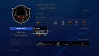 Playstation 4 Appear Offline
