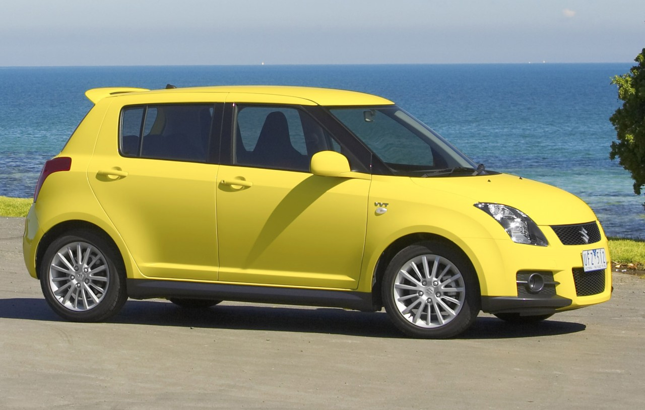 Suzuki Swift Sport Yellow Cars Wallpapers And Pictures
