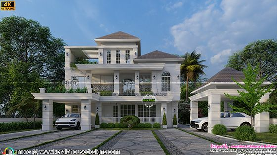 French home front view design