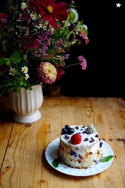 cake fleurs photo culinaire food photography