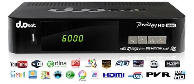Duosat Prodigy Nano HD Atualização V13.4 - 14/05/2021