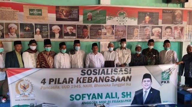 Anggota DPR-RI Asal Jambi, Sofyan Ali Sosialisasi 4 Pilar Kebangsaan