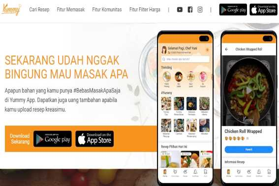 Fitur dan Kelebihan Yummy App