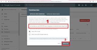 Cara Hapus URL Artikel Blog di Google Search Console atau Webmaster Tools Terbaru