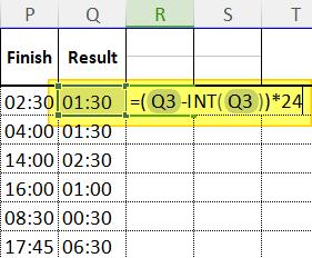 Cara merubah jam ke angka di excel