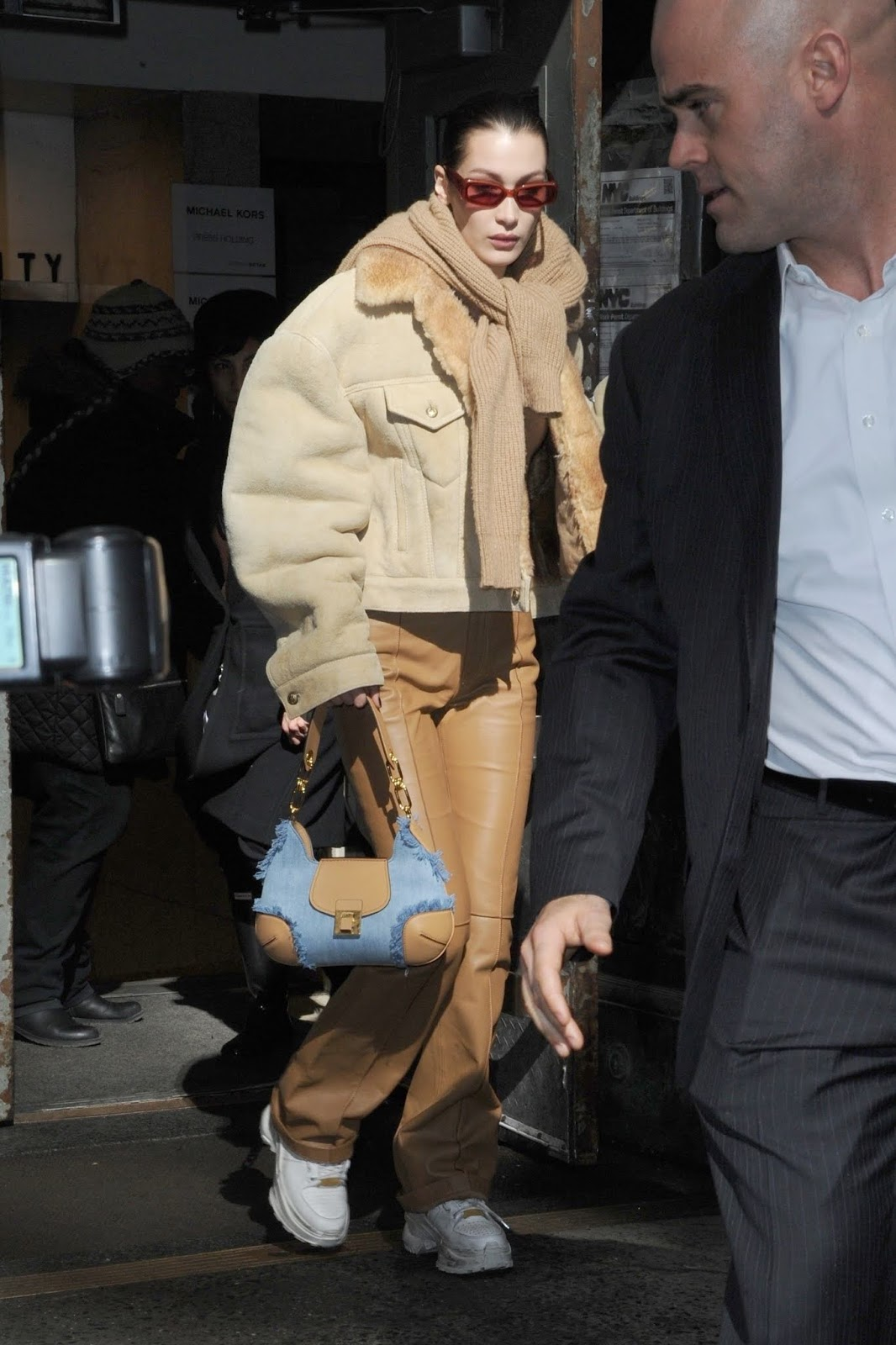 Bella Hadid - Outside Michael Kors fashion show during NYFW in NYC - 02/12/2019