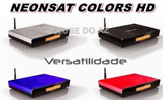 Neonsat colors HD atualização v.c86 de 14/07/2018