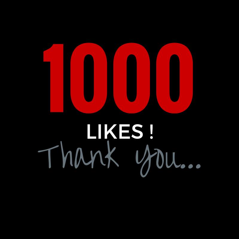 1000 likes on FB ! | High 5