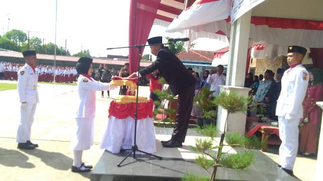 Upacara Peringatan Detik-Detik Proklamasi, Berlangsung Kidmat di Kecamatan Pariaman Selatan