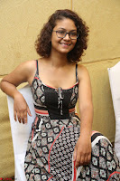 Actress Aditi Myakal Looks gorgeous in Sleeveless Deep Neck Top at Ami Tumi success meet ~  Exclusive 095.JPG