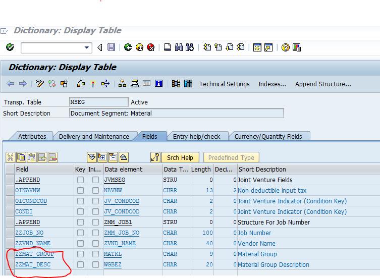 SAP ABAP Consultant Career: Adding Custom Field In MB51 (Material