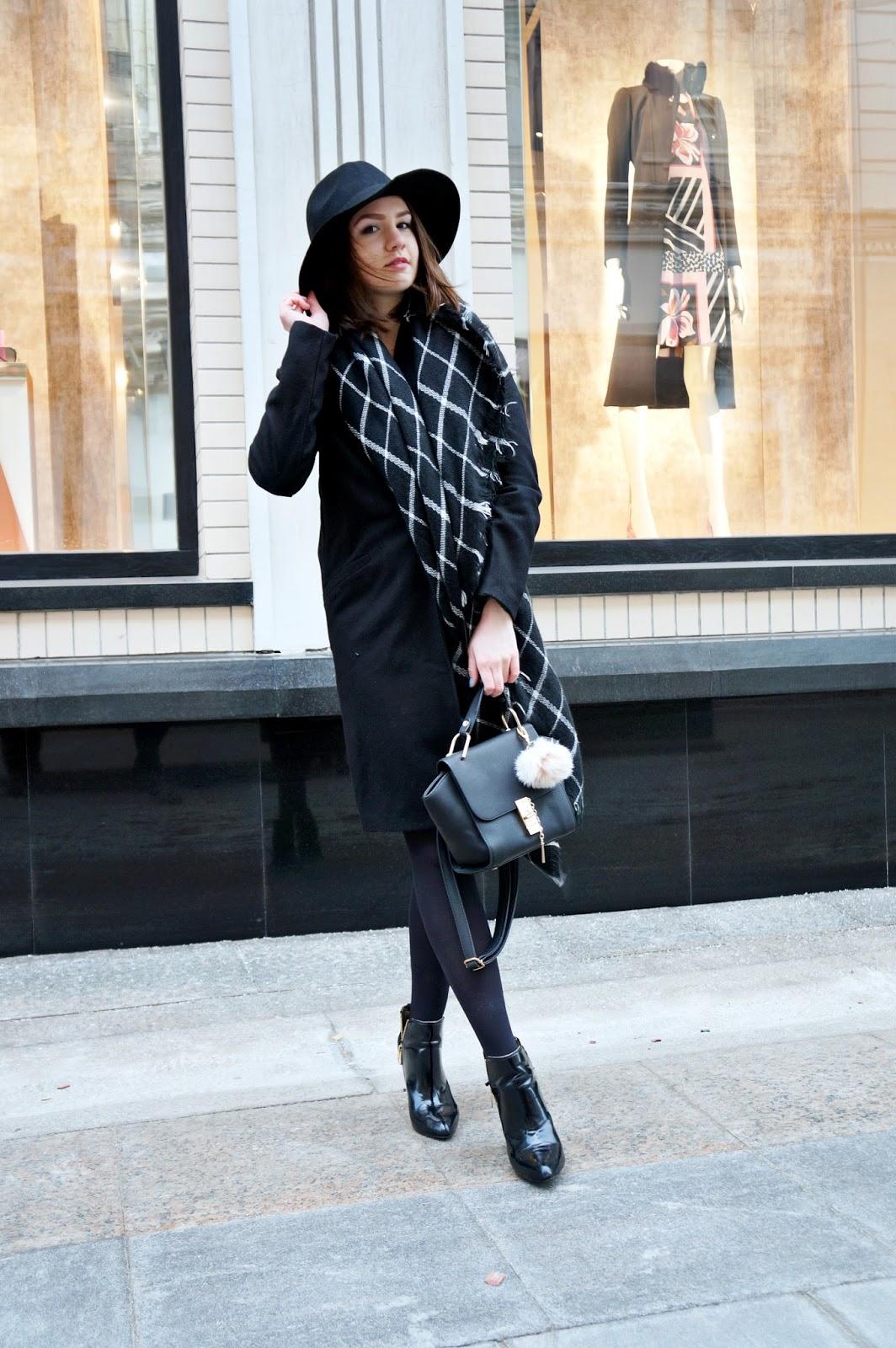 Alina Ermilova | Fashion Blogger | Blanket Scarf
