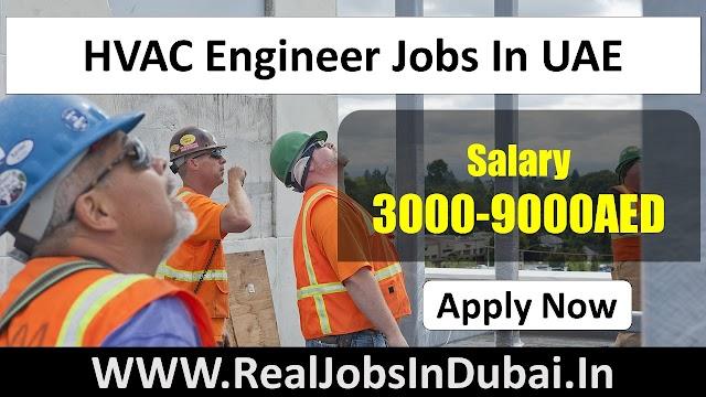 HVAC Engineer Jobs In UAE - 2020