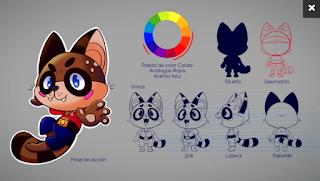 Diseño de personajes para videojuegos y aplicaciones