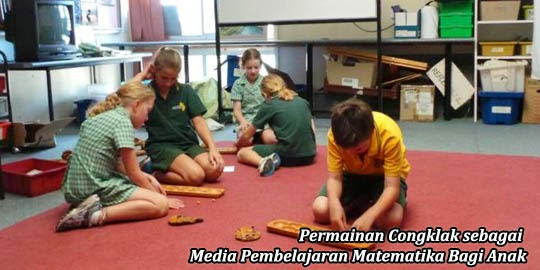 permaindan daerah, congklak sebagai media pembelajaran matematika