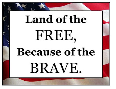 Happy Memorial Day 2016: land of the free, because of the brave.