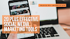 20+ Effective Social Media Marketing Tools To Grow Your Traffic & Audience