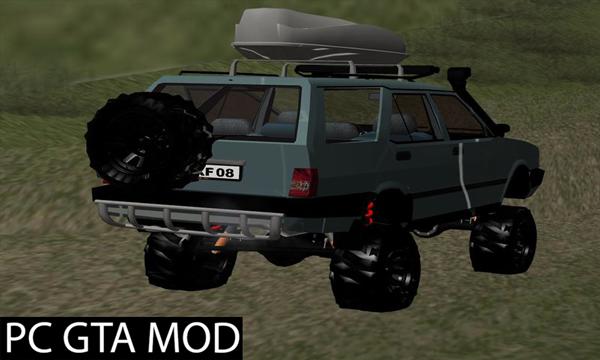Free Download  Tofaş Kartal Off-Road Mod for GTA San Andreas.