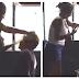 VÍDEO: Mãe envergonhada com a prisão do filho da corretivo a base de tapas na delegacia, assista