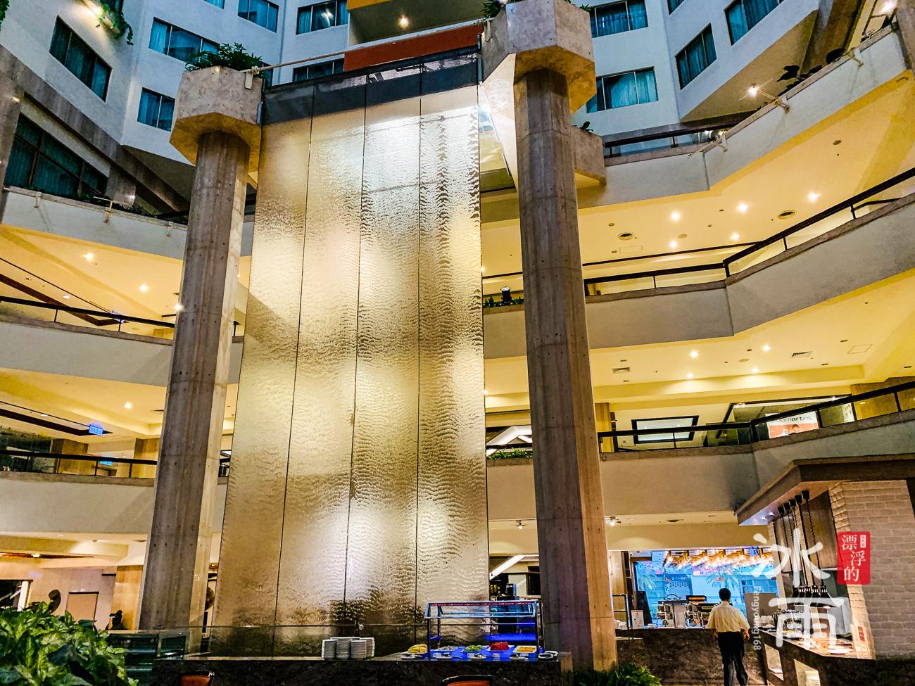 福華大飯店|水幕