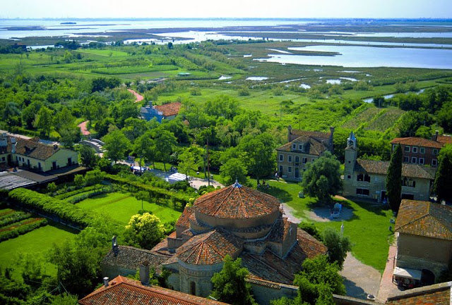 View from the campanile, Torcello