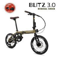sepeda lipat pacific blitz folding bike