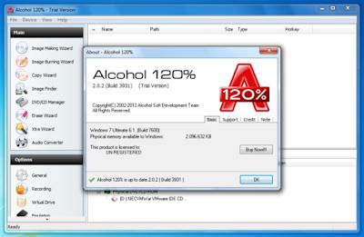 Alcohol 120% 2.0.3 Build 10203 Multilingual Full Version