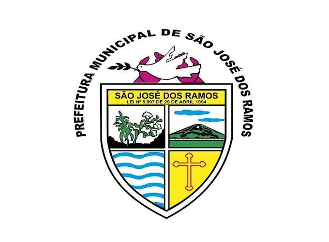 SÃO JOSÉ DOS RAMOS: Prefeitura Municipal de São José dos Ramos, divulga nota a População Sanjoseenses, sobre os casos confirmados de Coronavírus..