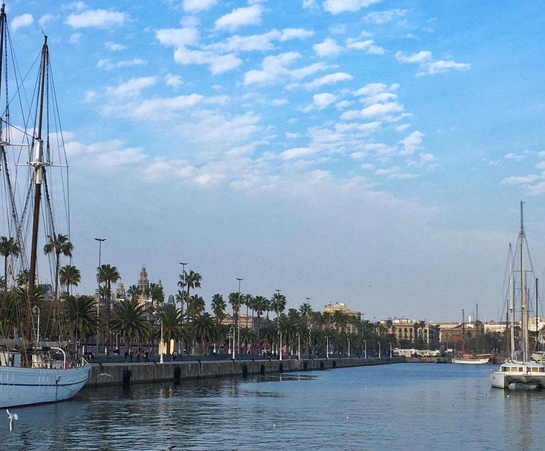Barcelona, Port Vell, @rouvasana