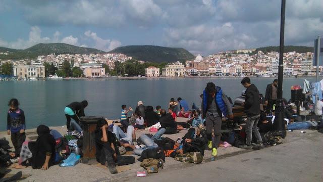 Λέσβος: Χειροπέδες σε μετανάστη που κατηγορείται ότι αποπειράθηκε να βιάσει 18χρονη