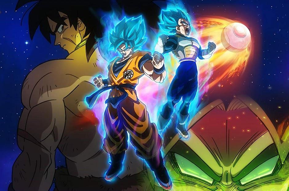 Dragon Ball Super Broly quebra recordes de bilheteria no Brasil