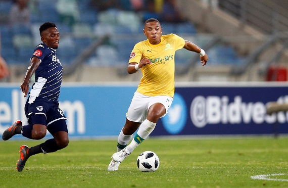 Mamelodi Sundowns midfielder Andile Jali