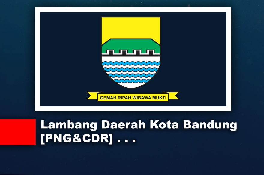 Lambang atau Logo Daerah Kota Bandung CDR, PNG, JPG