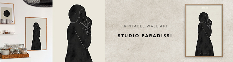 Contemporary printable art by Studio Paradissi