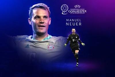 نوير أفضل حارس في دوري أبطال أوروبا موسم 2019-2020