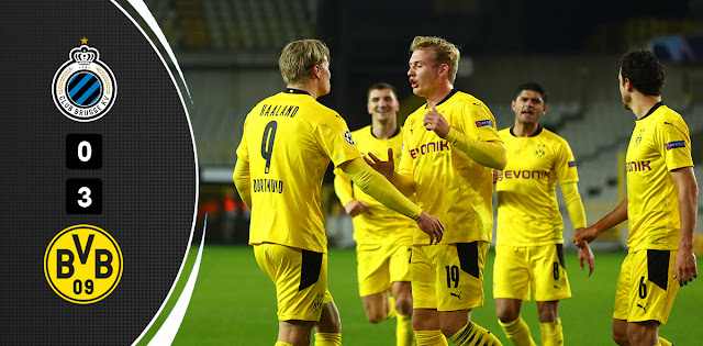 Club Brugge vs Borussia Dortmund – Highlights