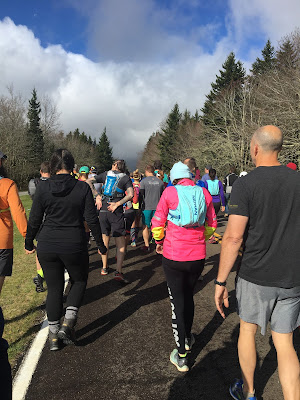 Jadoregrace.com // My First Half Marathon in Grayson Highlands with Run Bum Tours