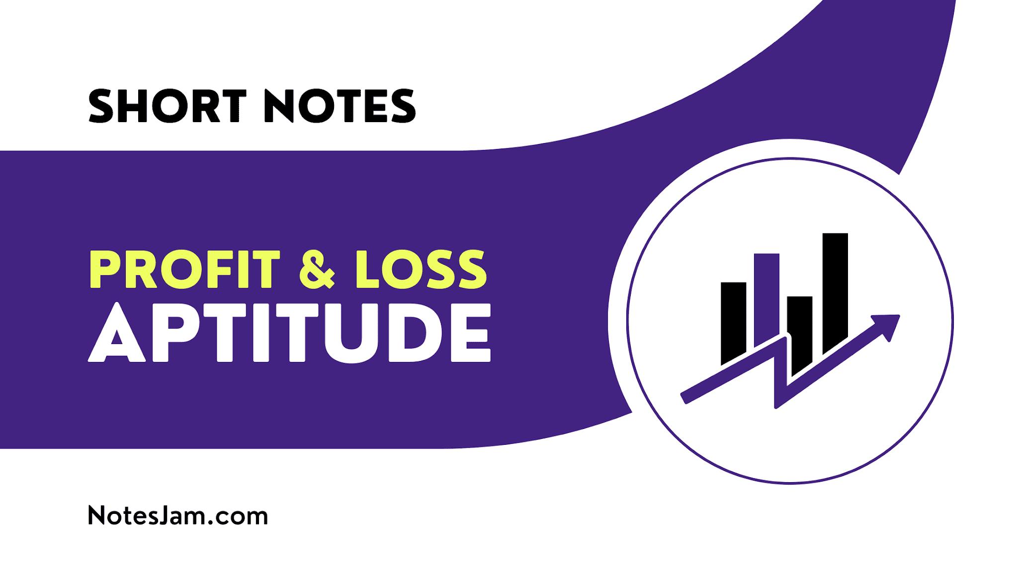 Profit and loss formula and tricks in Quantitative Aptitude
