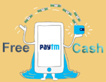 Get free paytm cash for signing up and referring friends