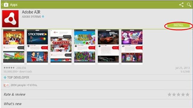 Panduan Menginstal Adobe Air Untuk Bermain Poker Online di Android