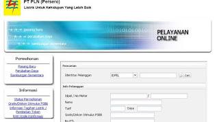 Cara Mudah Login Token Listrik Gratis www.pln.co.id Hari ini 4 April 2020, WhatsApp (WA) PLN Error