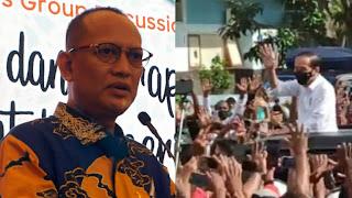 Kerumunan di NTT Kurang Diantisipasi, Eka Gumilar Sebut Jokowi Tidak Adil Menerapkan Prokes