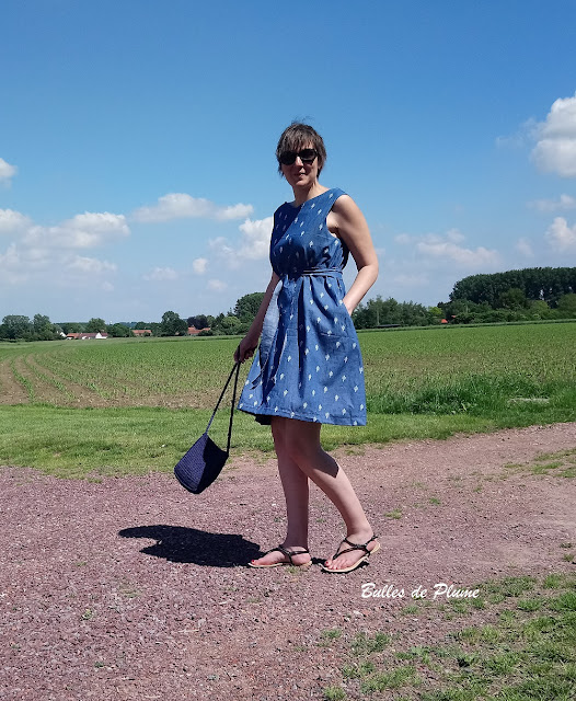 Bulles de Plume - couture facile robe femme