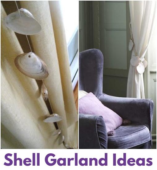Shell Garland Decor
